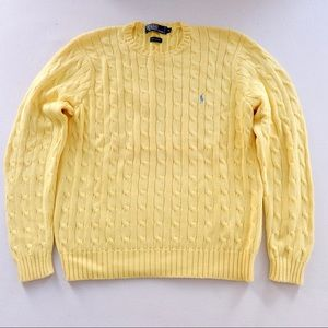 Ralph Lauren Crewneck Cable-knit Sweater
